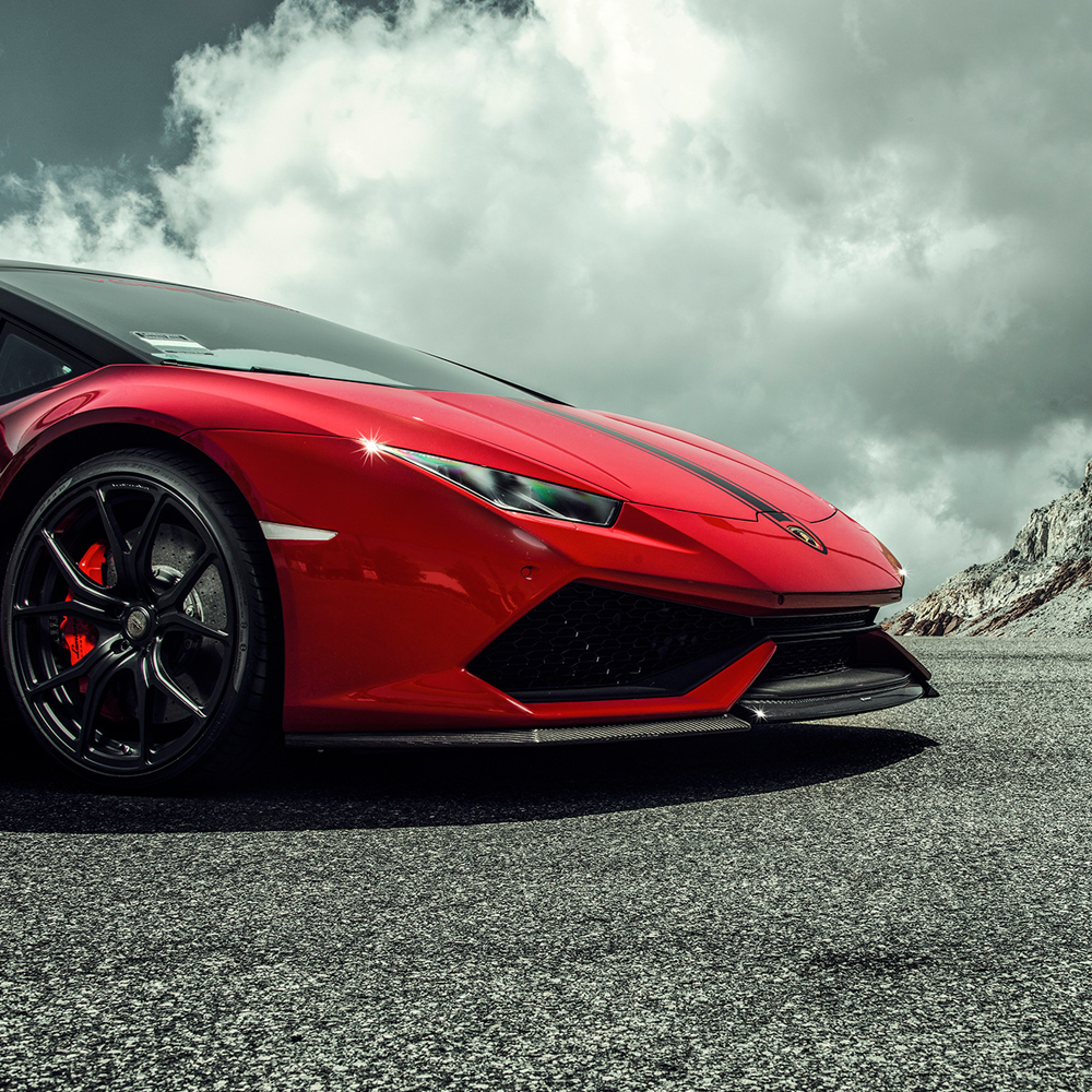 Vorsteiner Front Spoiler Carbon Fiber Lamborghini Huracan