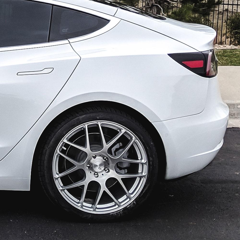 "19"" Avant Garde M610 Silver 19x8.5 19x10 Wheels Rims Fits"