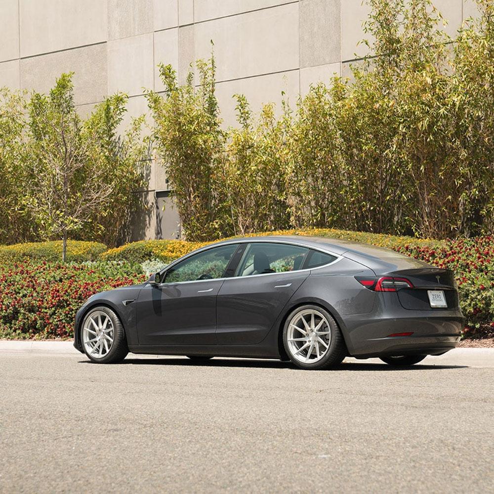 """19"""" Avant Garde M621 Silver 19x8.5 Wheels Rims Fits Tesla ..."""