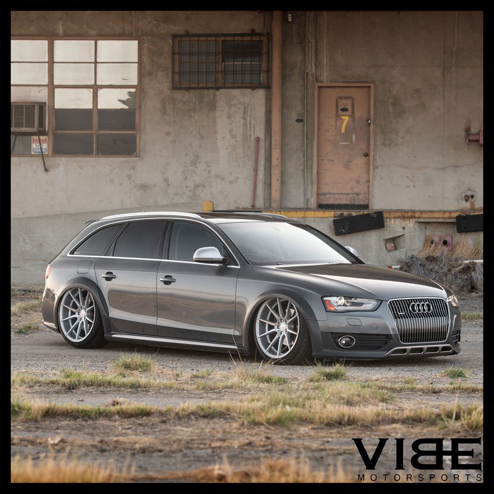 """19"""" AVANT GARDE M652 19X8.5 SILVER FORGED CONCAVE WHEELS"""