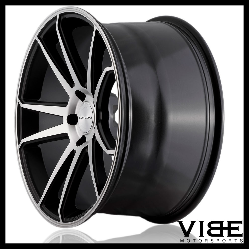 """20"""" CONCAVO CW-S5 MACHINED CONCAVE WHEELS RIMS FITS ACURA"""