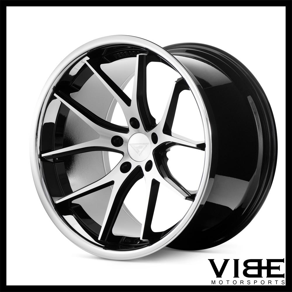 22 ferrada fr2 machined concave wheels rims fits chrysler 300 300c 300s. Black Bedroom Furniture Sets. Home Design Ideas