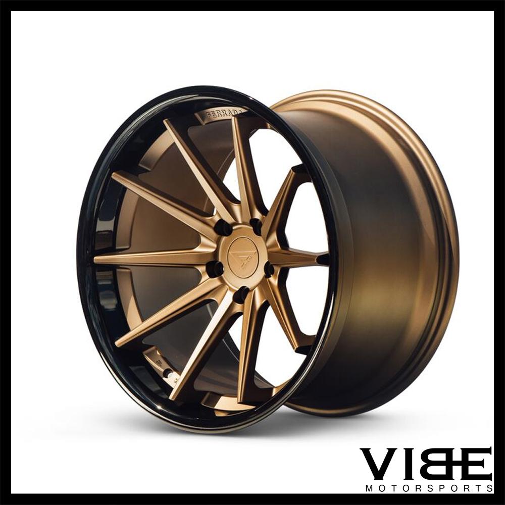 20 ferrada fr4 bronze concave wheels rims fits mercedes for Ebay motors parts tires
