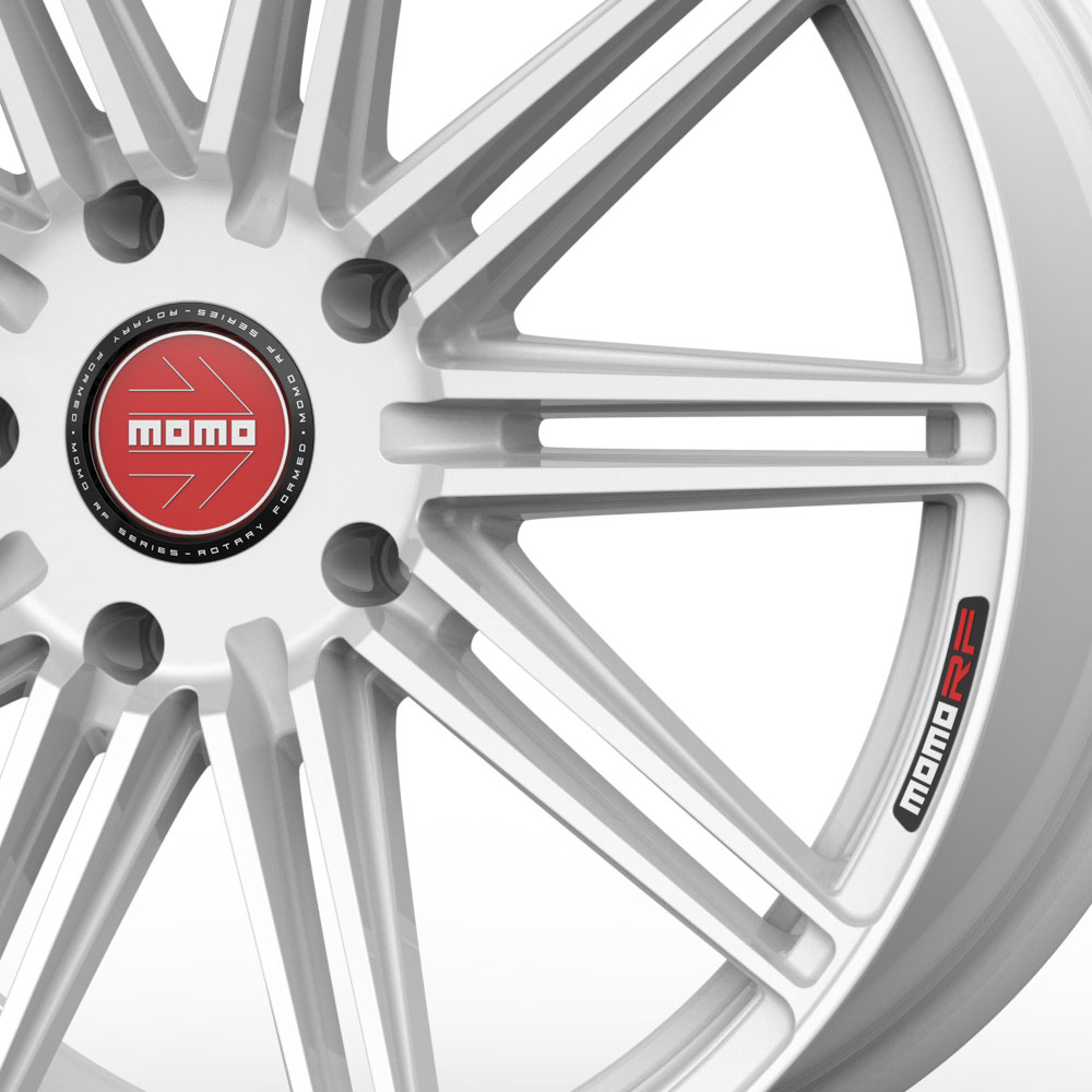 """20"""" MOMO RF-10S White 20x9 Forged Concave Wheels Rims Fits"""