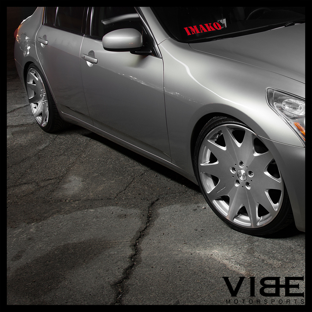 20 mrr hr3 silver concave vip wheels rims fits infiniti g37 sedan 20 034 mrr hr3 silver concave vip wheels vanachro Choice Image