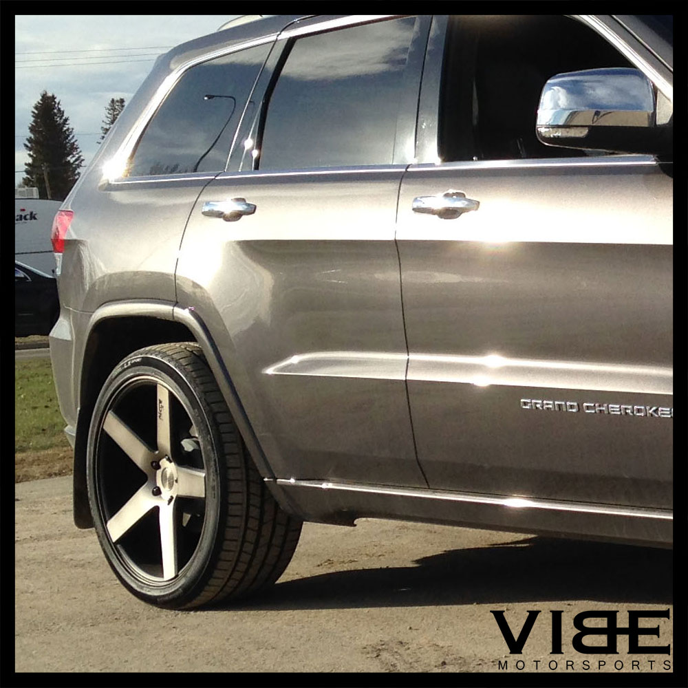 niche milan suv machined concave wheels rims fits audi  ebay