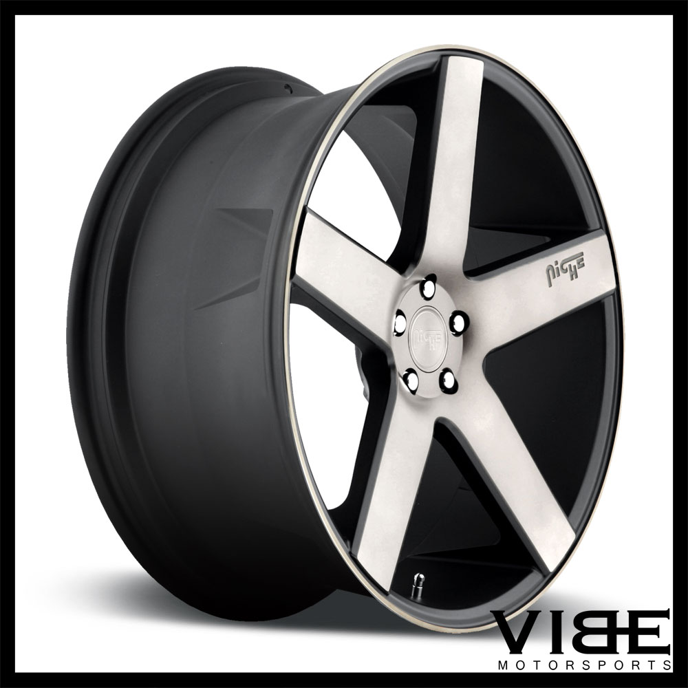 Niche Milan Suv Machined Concave Wheels Rims Fits Audi Ebay