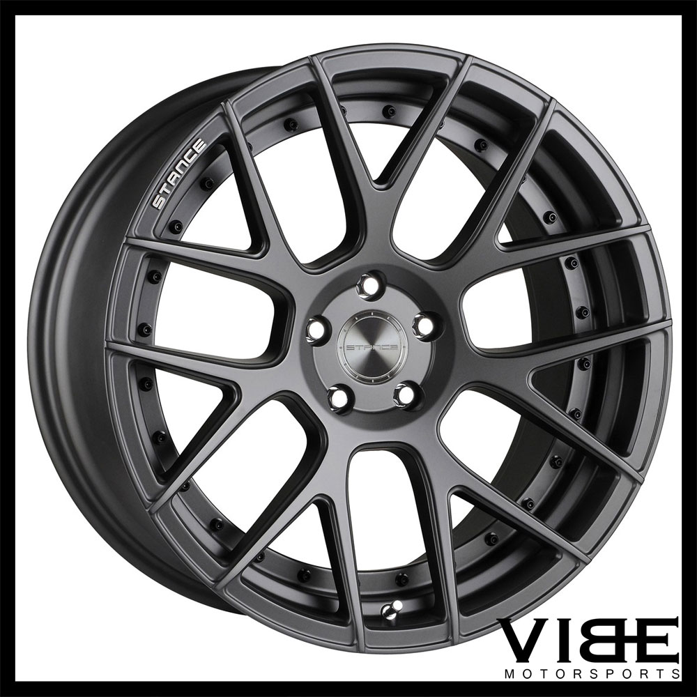 20 Stance Sc8 Grey Concave Wheels Rims Fits Lexus Gs350