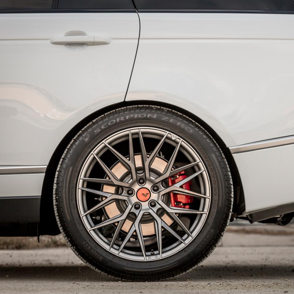 22 Quot Vorsteiner Vff 107 Titanium Concave Forged Wheels Rims