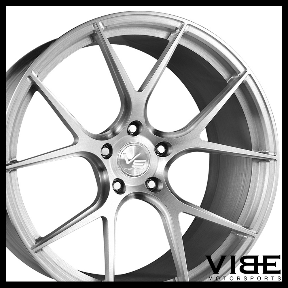 "20"" VS FORGED VS02 BRUSHED CONCAVE WHEELS RIMS FITS ACURA"