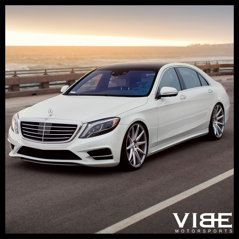"""Sport Car Collections Jayde Mercedes Benz Customized: 20"""" XO SYDNEY SILVER CONCAVE WHEELS RIMS FITS BENZ W218"""