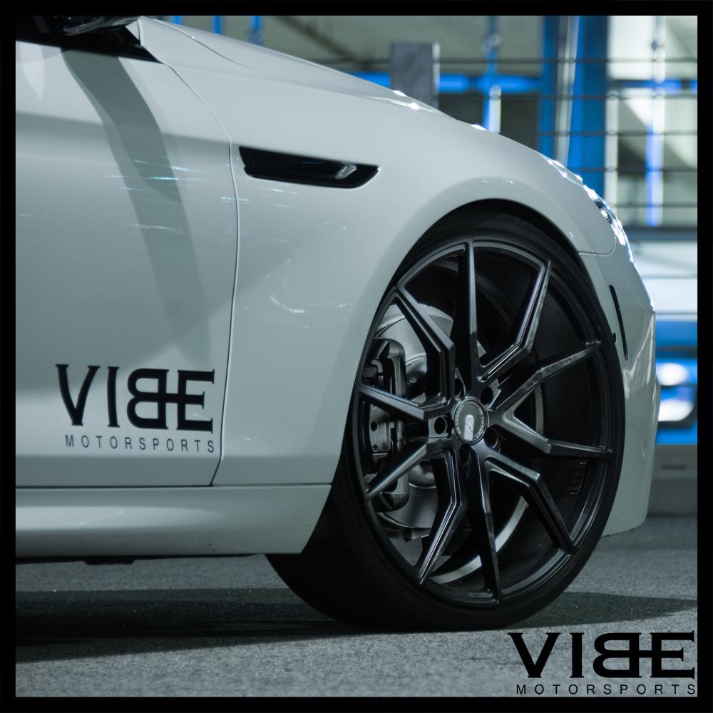 21 Xo Verona Black Concave Wheels Rims Fits Maserati