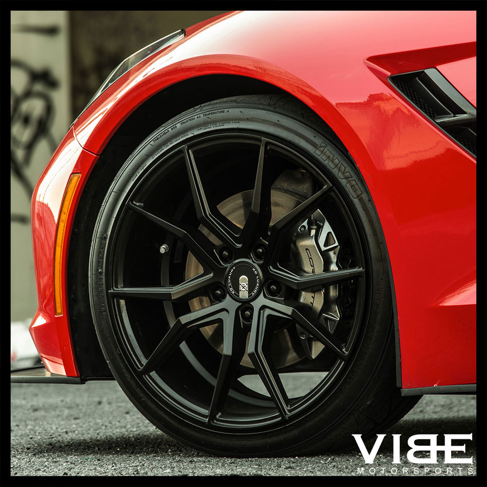 fits v coupe concave wheels rsr forged cts rims cadillac hyperblack pin