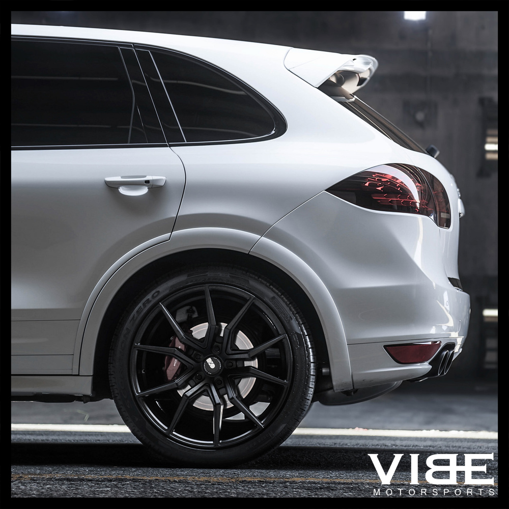 "Black Porsche Cayenne: 22"" XO VERONA GUNMETAL CONCAVE WHEELS RIMS FITS PORSCHE"