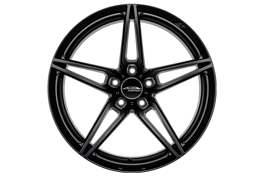19 Ace Aff01 Flow Form Black Concave Wheels Rims Fits Honda Accord