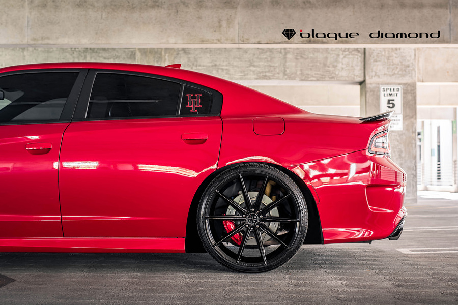 Dodge Charger Blaque Diamond Bd Gloss Black Wheels on Dodge Center Caps By Size