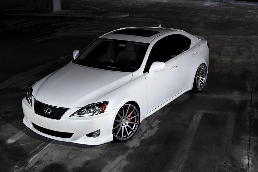 Lexus Is250 White Rims