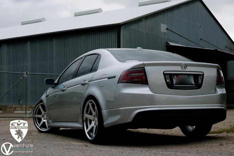 concept  cs silver concave wheels rims fits honda accord coupe ebay