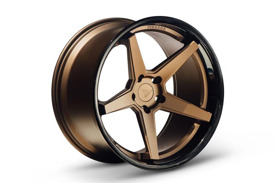 22 Quot Ferrada Fr3 Bronze Concave Wheels Rims Fits Dodge