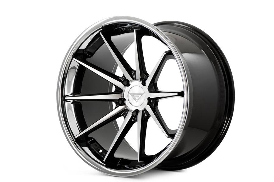22 Quot Ferrada Fr4 Machined Concave Wheels Rims Fits Dodge