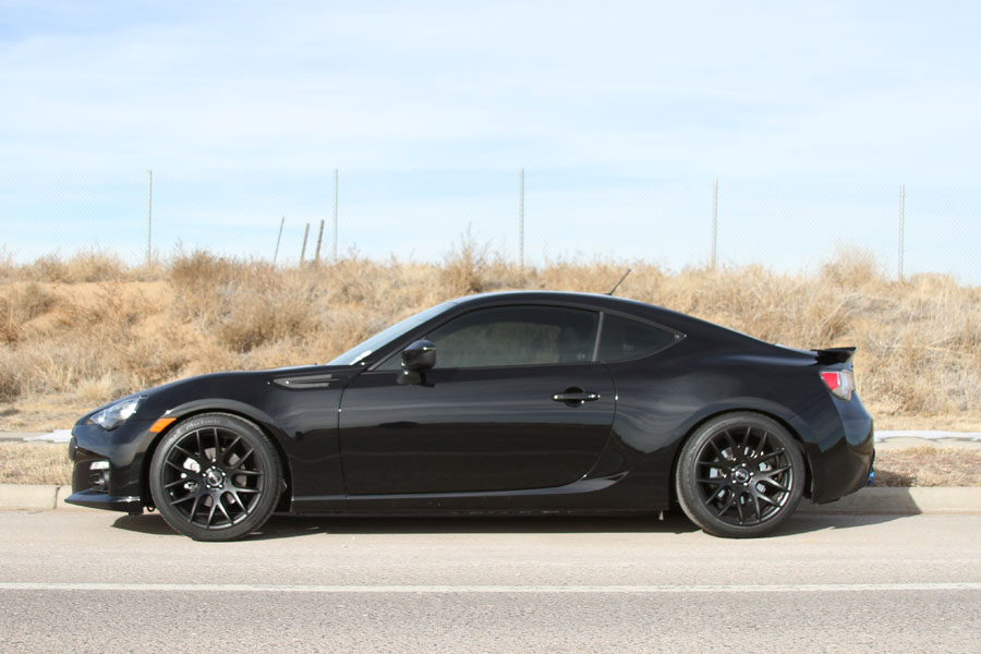 18 miro type 111 black concave wheels rims fits scion frs. Black Bedroom Furniture Sets. Home Design Ideas