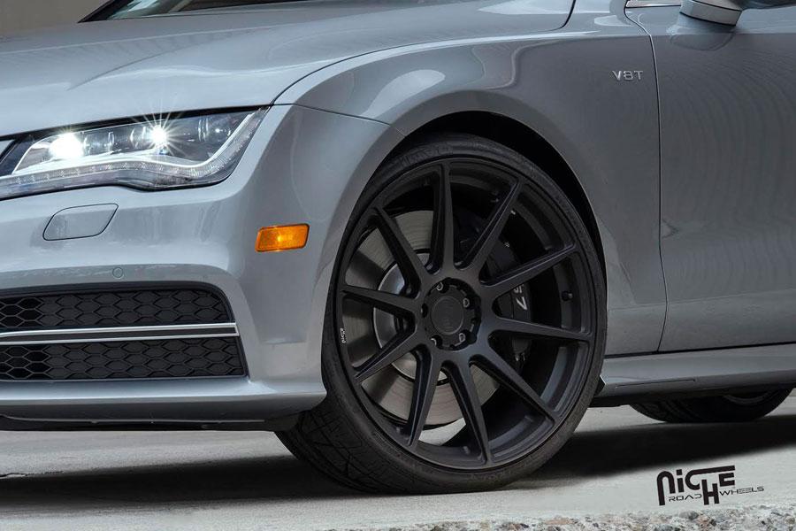 Niche Wheels Mustang >> 20 Niche Essen Black Concave Wheels Rims Fits Ford Mustang Gt Gt500