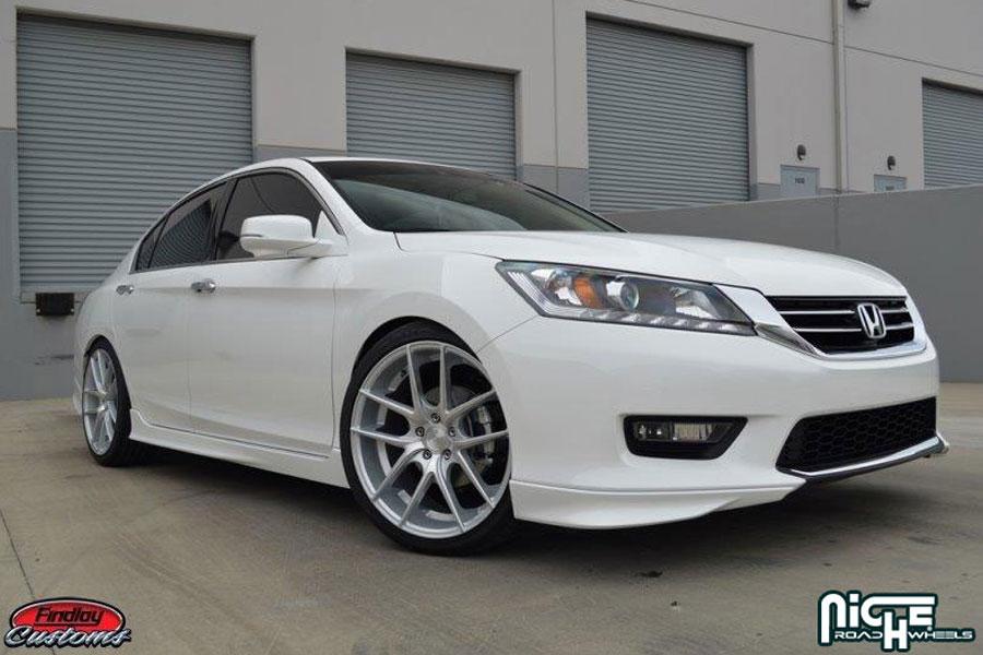 19 Quot Niche Targa Silver Concave Wheels Rims Fits Honda