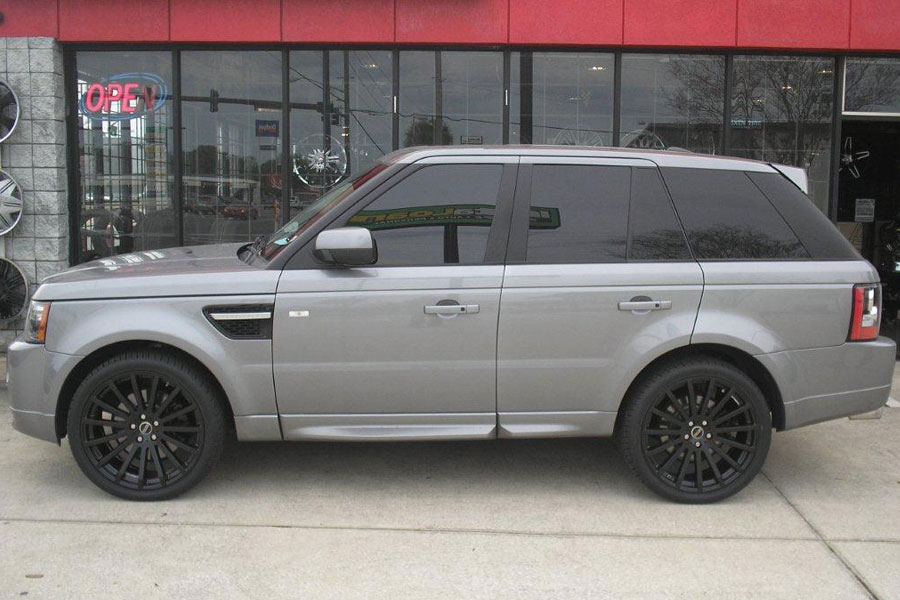 Details About 22 Redbourne Dominus Matte Black Wheels Rims Fits Range Rover Hse Supercharged