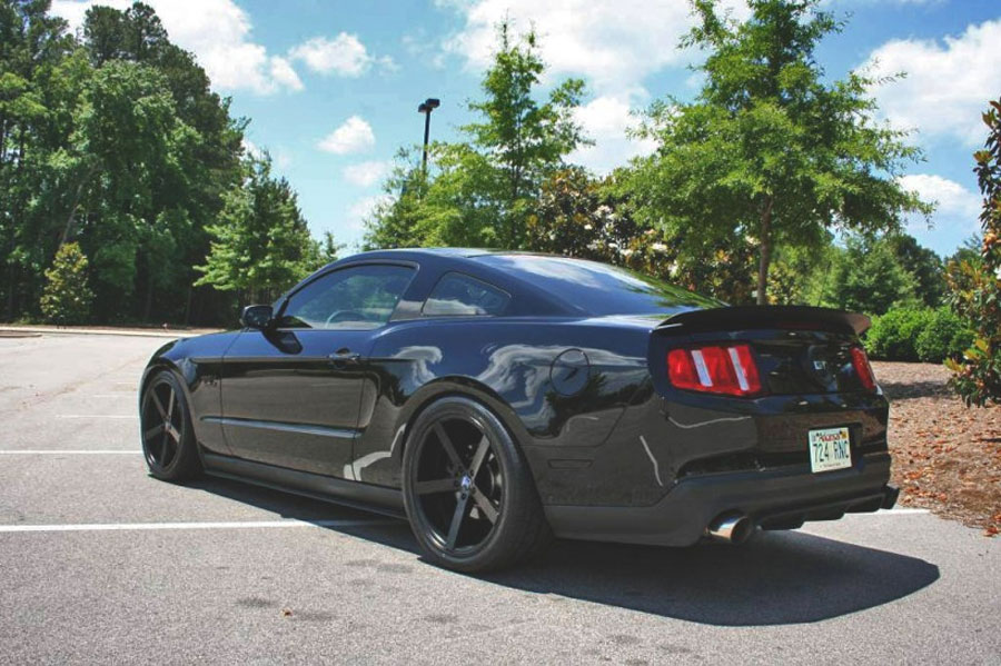 click here to view full size - 2014 Ford Mustang Gt Black