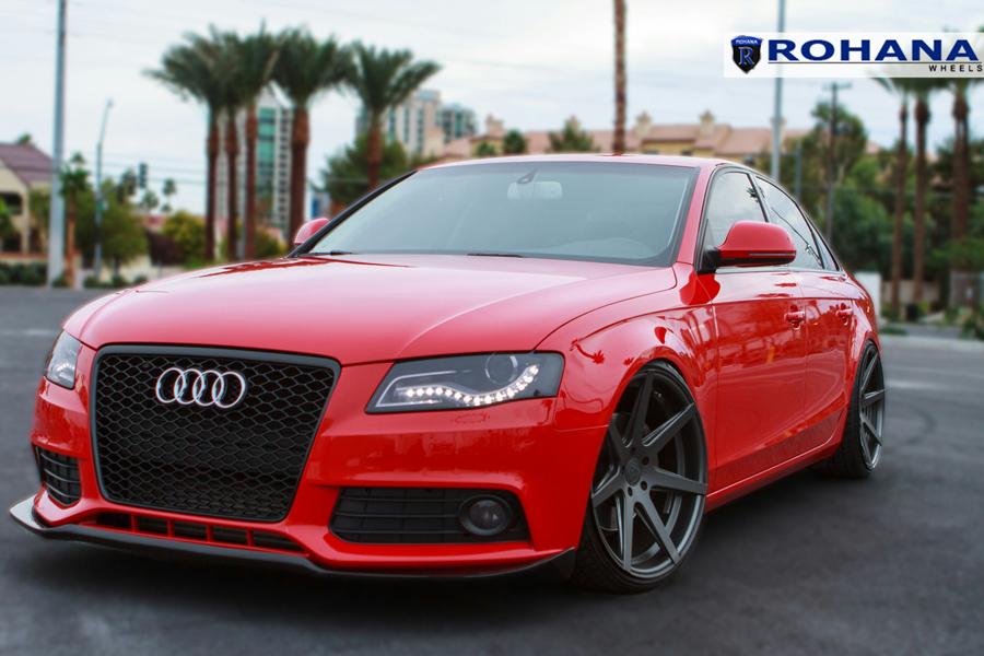 ROHANA RC GRAPHITE CONCAVE WHEELS RIMS FITS AUDI B A S EBay - Audi a4 wheels