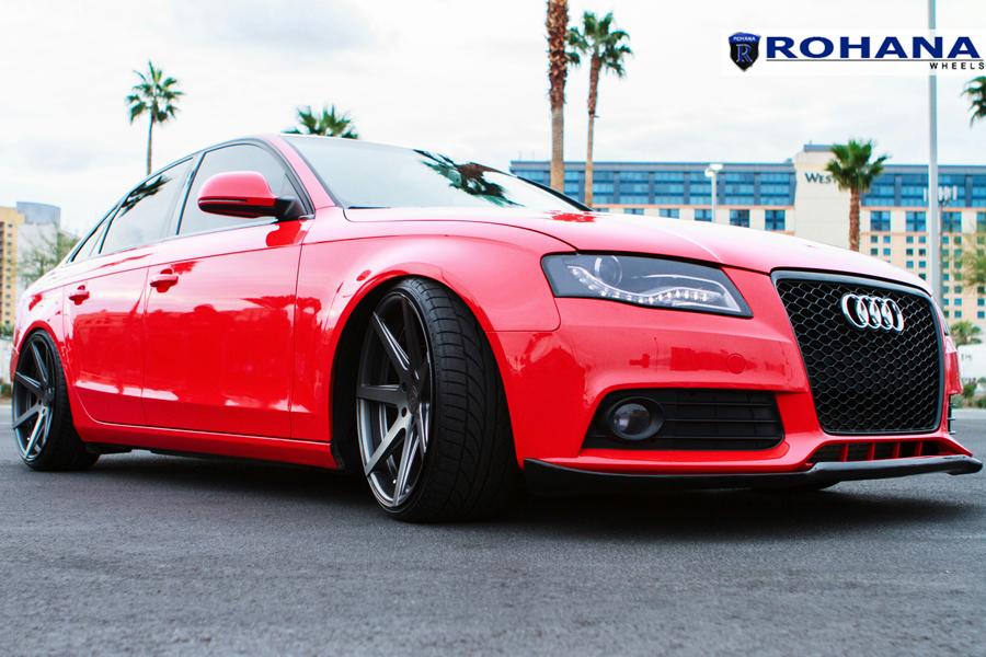 19 Quot Rohana Rc7 Graphite Concave Wheels Rims Fits Audi C6