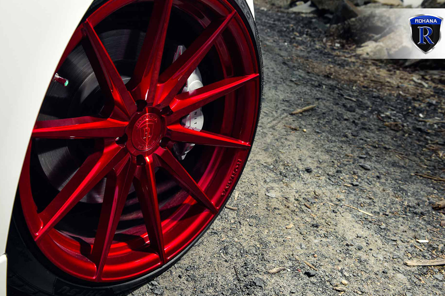 20 Quot Rohana Rf1 Red Forged Concave Wheels Rims Fits