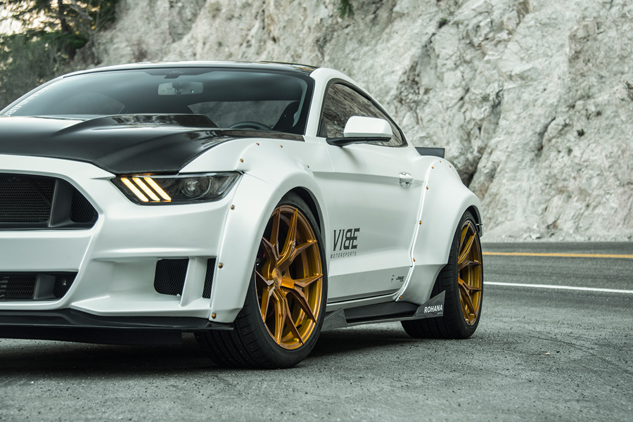 20 rohana rfx5 gold forged concave wheels rims fits ford mustang gt ebay. Black Bedroom Furniture Sets. Home Design Ideas
