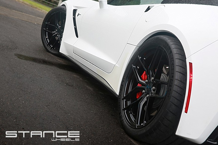 19 Quot 20 Quot Stance Sf03 Gloss Black Concave Forged Wheels Rims