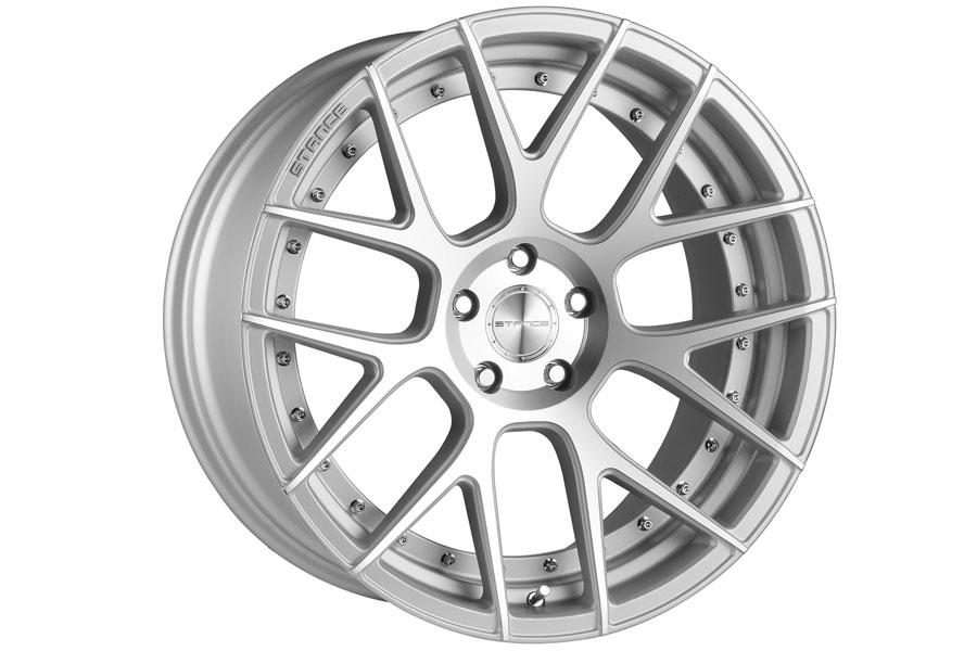 20 Stance Sc8 Silver Concave Wheels Rims Fits Bmw E38 740i 740il