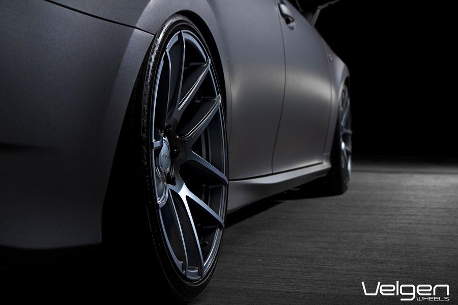 20 Velgen Vmb5 Gunmetal Concave Wheels Rims Fits Lexus Isf Ebay