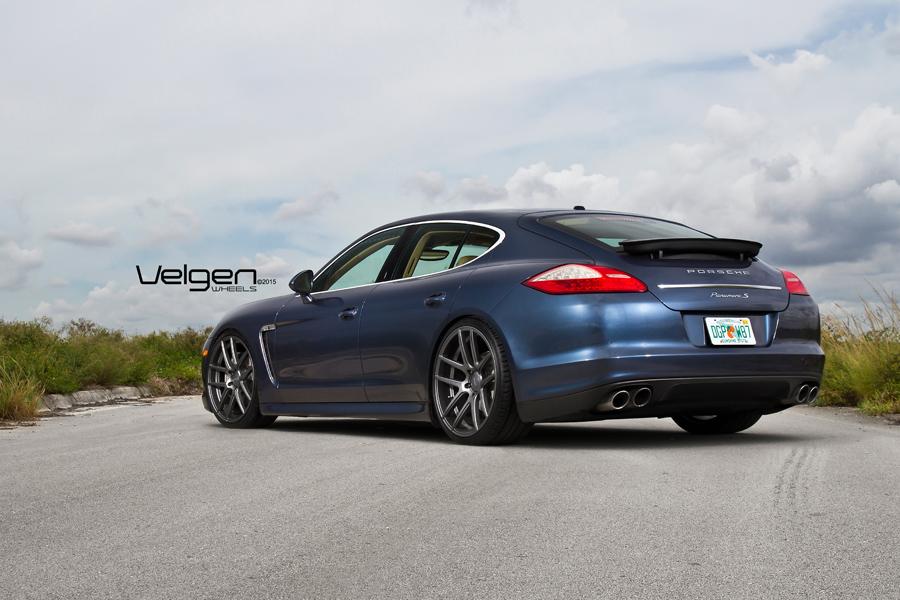 22 Velgen Vmb5 Gunmetal Concave Wheels Rims Fits Porsche