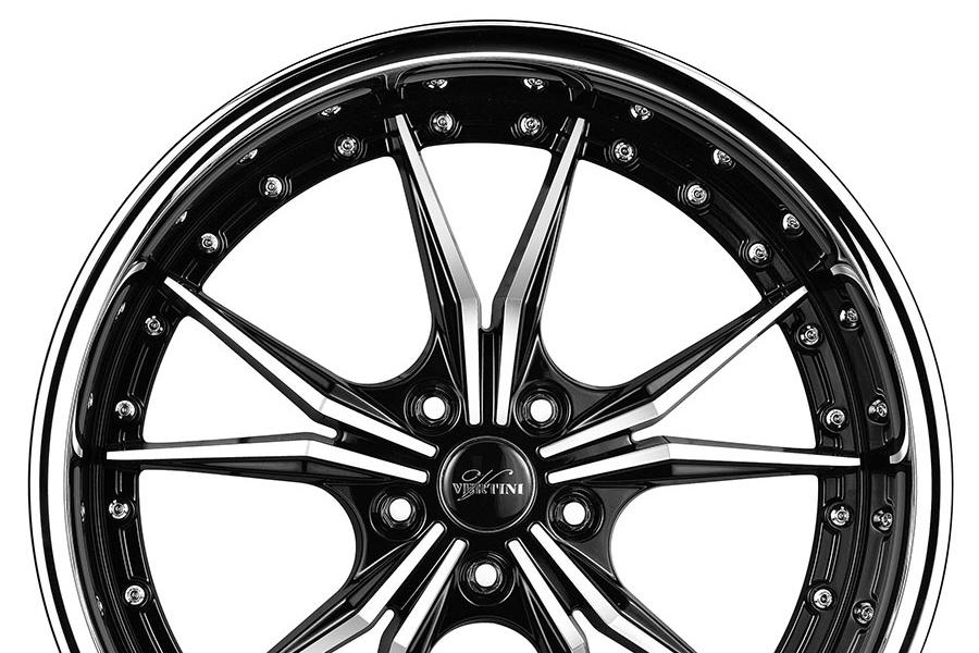 19 Vertini Dark Knight Machined Wheels Rims Fits Mercedes W204 C250