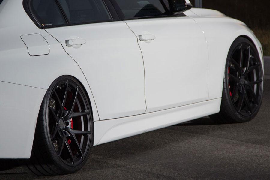 19 Vorsteiner V Ff 101 Forged Concave Black Wheels Rims Fits Bmw
