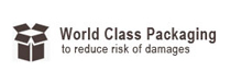 Worldclass Packaging to reduce risk of damage