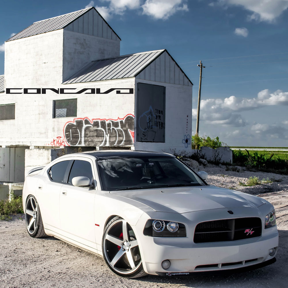 03 feb 2014 1811 125k dodge charger white concavo cw5 matte black machined face wheels 03jpg 03 feb 2014 1811 113k - Dodge Charger 2013 White Black Rims