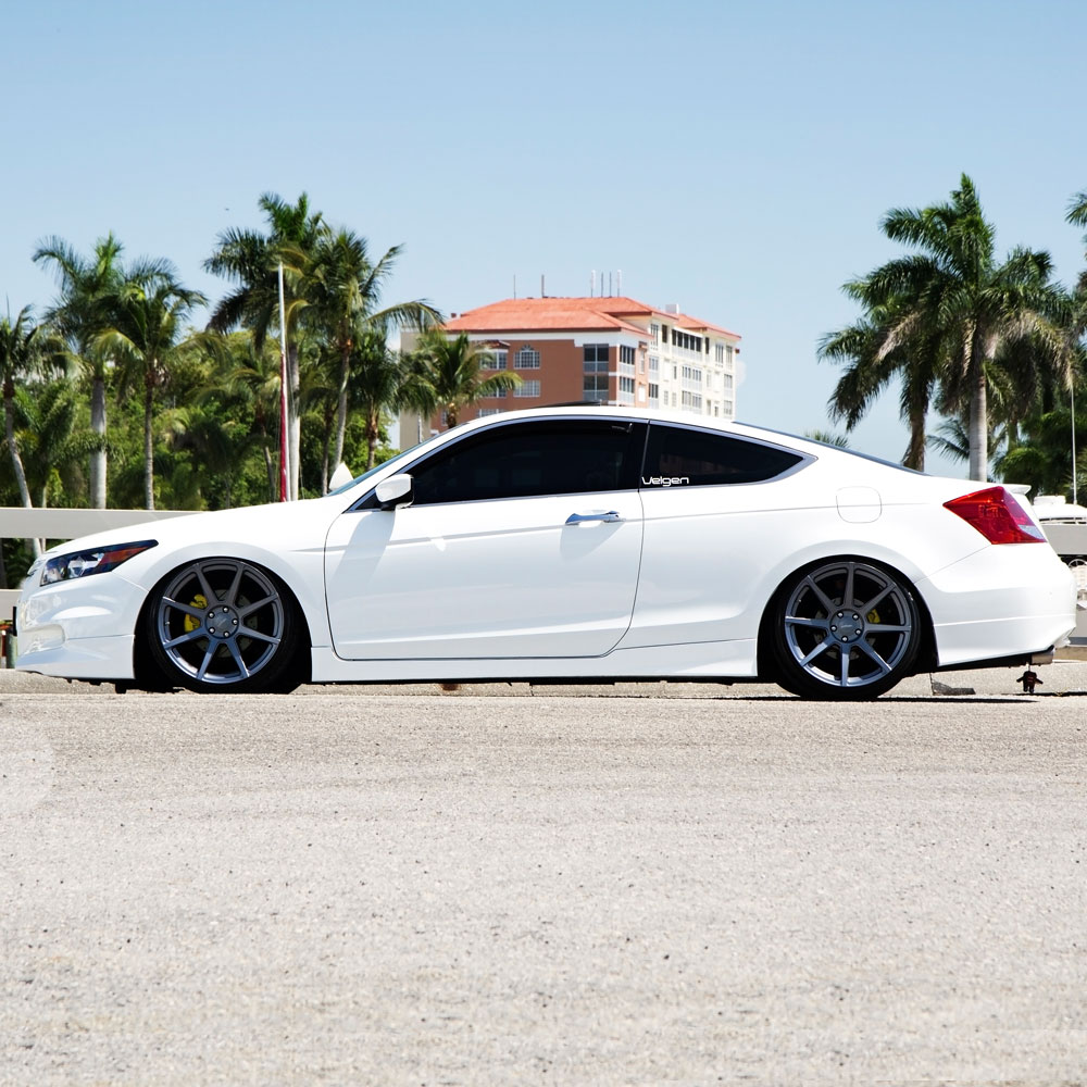 White Honda Accord Coupe Wheels Pictures To Pin On